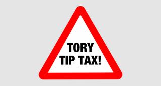 Tory Tip Tax