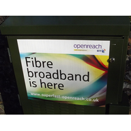 Superfast Braodband fibre box