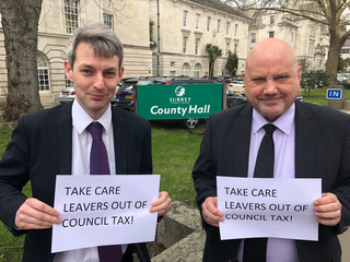 Will & Chris, Care Leavers campaign